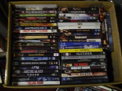 (72) Horror DVD Lot: JJ Abrams Texas Chainsaw  Hannibal Friday the 13th  Descent](Friday The 13th Chainsaw)