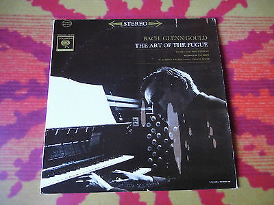 ♫♫♫ BACH / Glenn Gould - The Art of the Fugue 1 - Organ CBS Vinyl LP ♫♫♫
