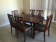 7 Piece Dining Suite Cedar (Extendable) Orange Orange Area Preview