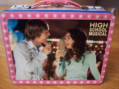 High School Musical Lunch Box - HIGH SCHOOL MUSICAL TIN BOX LUNCH BOX COLLECTIBLE MINT NEVER USED