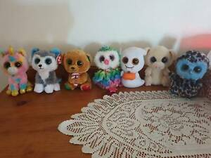 Beanie Boos small and large