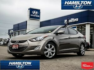 2013 Hyundai Elantra | LIMITED | NAVI | BACK UP CAM | ALLOYS | R