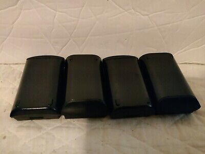 Black Lot of Two Motorola Symbol MC50 MC5040 Belt SOFT Leather Pouch x2
