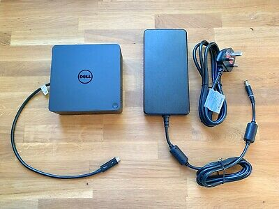 Dell TB16 Thunderbolt laptop docking station, 240W adapter