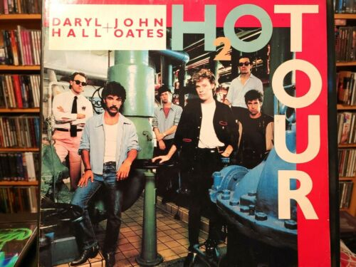 DARYL HALL & JOHN OATES - H2O TOUR BOOK PROGRAM – 1983 / POP ROCK
