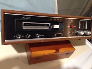 8 Track Player/Recorder with Tapes