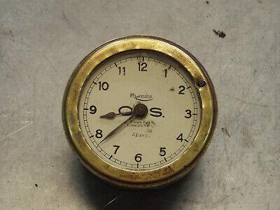 O.S. OS Ripaults 4 day vintage car clock Bentley Riley Alvis MG Austin Rover BSA