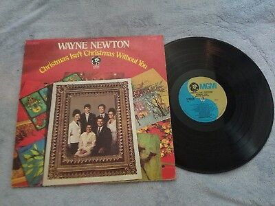 Wayne Newton / Christmas Isn't Christmas Without You - Vinyl LP Record Album ()