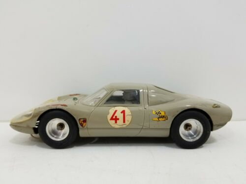 VINTAGE 1965 K&B 1:24 PORSCHE 906/916 SLOT CAR MODEL RACING KIT #1802