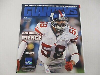d266962a Football - NFL - Ny Giants Program - 3 - Trainers4Me