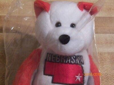 Nebraska Quarter Beanie Bear 37th State Collectible Stuffed Coin Bear retired