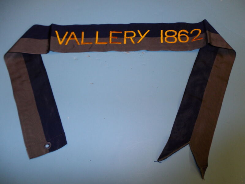 rst013 Civil War US Army Flag Streamer Vallery 1862