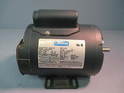 Leeson Electric Motor Ac 14hp 1725rpm 1ph 100361.00