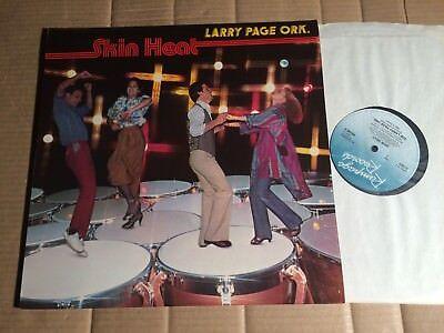 LARRY PAGE ORK. - SKIN HEAT - LP - UK 1978 (DI2132)