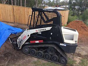 DIY Plant Hire Bobcat Posi track Excavator Rental No Lic Needeed Flaxton Maroochydore Area Preview