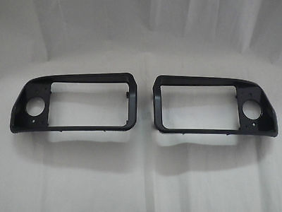 Club Car Golf Cart DS 1993-up New Replacement Headlight Black Bezels Left, Right