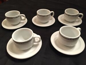 10 pièces Espresso cup set - NEW/never used