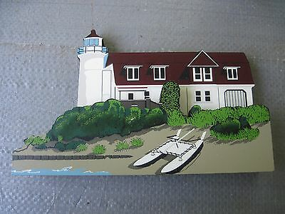 Shelia Wooden Lighthouse..1999 Point Betsie Lighthouse in Frankfort, Michigan