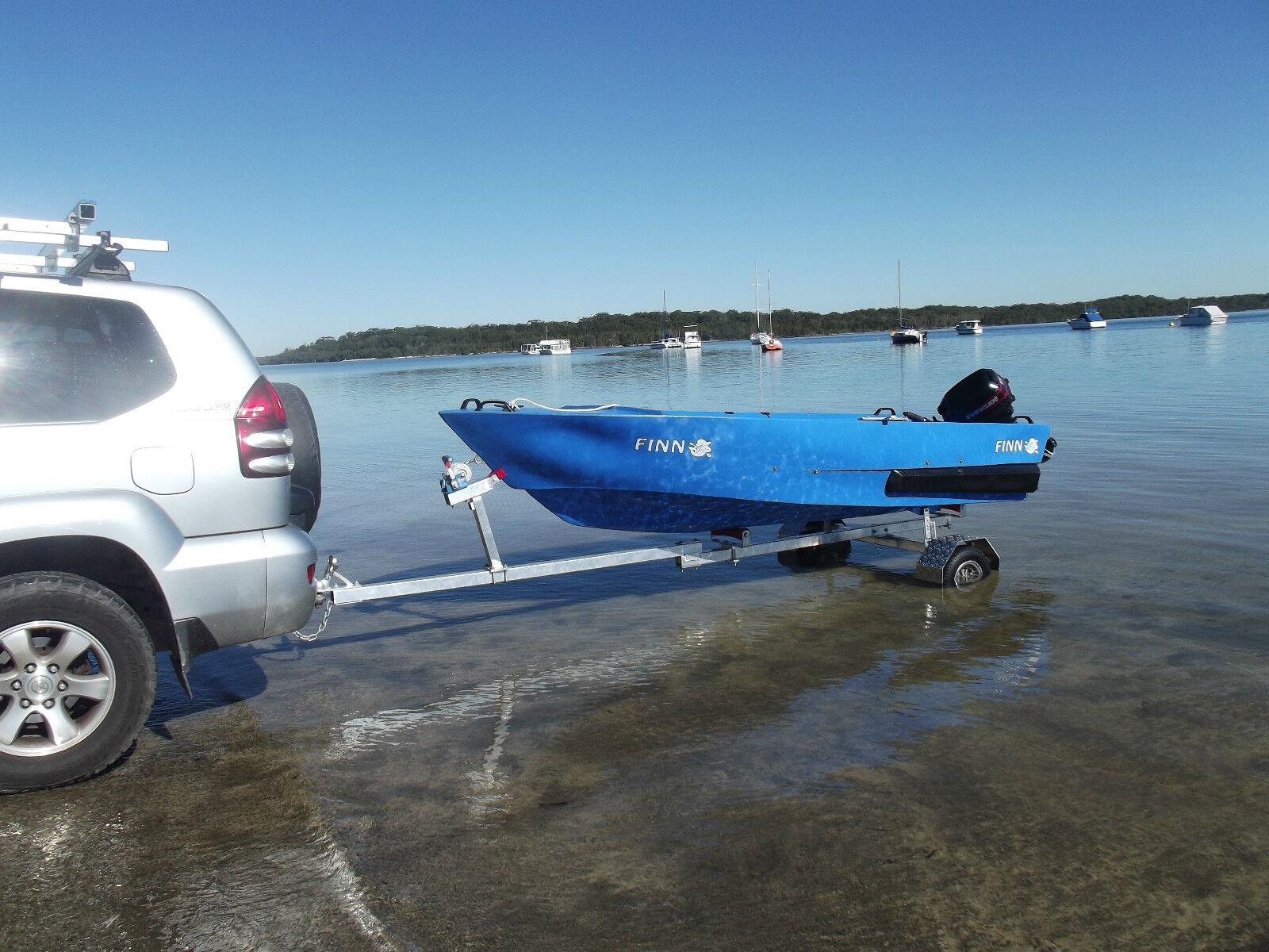 Motorcycle Boat Trailer