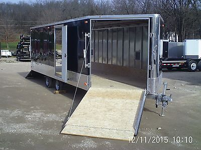 R Amp R All Aluminum 8 1 2x24 4 Place Enclosed Snow Fire