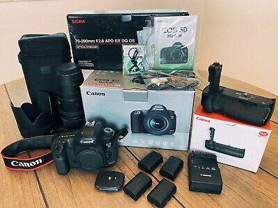 Canon EOS 5D Mark III / Sigma 70-200mm / BUNDLE / and MORE!!!