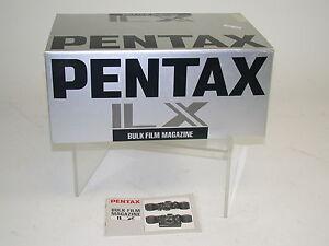 PENTAX LX bulk film magazine 250 Rückwand new old stock noch neu /14