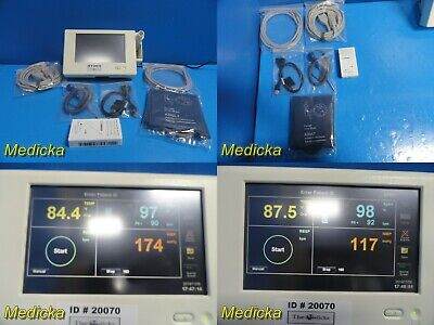2012 Spacelabs Ultraview Dm3 Spot Monitor W Patient Leads Adapterthermo20071