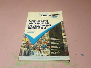 Cambridge checkpoints 2015 VCE health and human development Meadow Heights Hume Area Preview