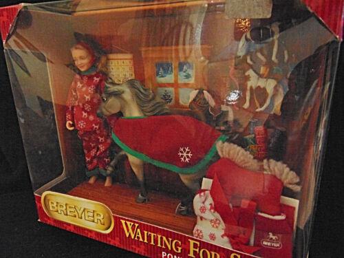 Christmas Breyer Waiting for Santa Horse Doll Accessories 2009 Gift Set 301114