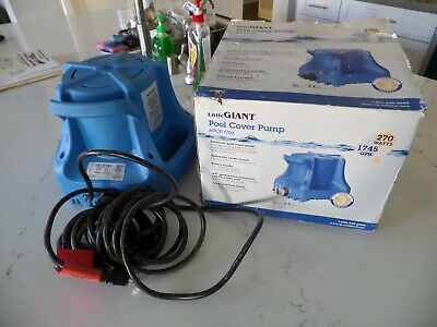 Little Giant Apcp-1700 Automatic Swimming Pool Cover Submersible Pump 13-hp