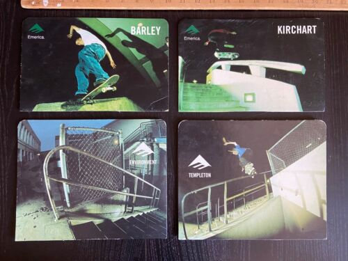 Emerica Shoes Skateboard Poster Displays early 2000