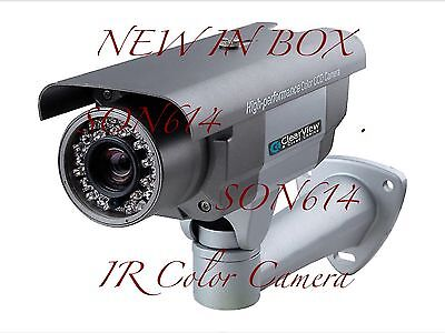 1x ClearView X-Super700-5-50 Exview CCD 960H 700TVL 6-50mm Security Color - Exview Ccd Camera