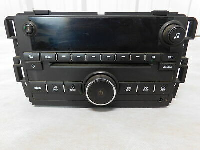 07-14 Chevrolet Silverado 2500 CD Player Radio OEM