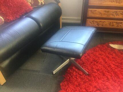 Vinyl footstool