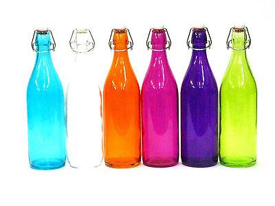 arbige Flaschen mit Verschluss (Farbige Flaschen)