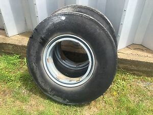 1200 x 22.5 steer tires and wheels