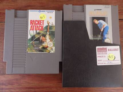 Nintendo NES games in good condition