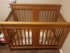 Crib, Dresser/Change Table Combo, Rocking Chair
