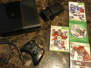 Xbox 360 E Console + games