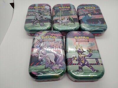 Pokemon Galar Power Mini Booster Tins Set of All 5! NEW SEALED