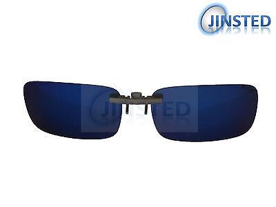 Azul Reflectante con Clip Gafas de Sol Polarizadas Claro Tonos ACP029 segunda mano  Embacar hacia Argentina