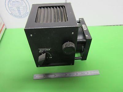 Microscope Part Nikon Japan Lamp Housing Illuminator Optics As Is Binl8-02