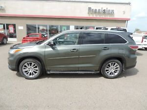 2014 Toyota Highlander XLE One Owner,Remote Start,Leather Hea...