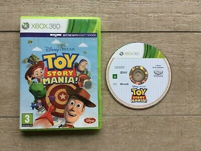 Toy Story Mania Microsoft Xbox 360 Game No Manual