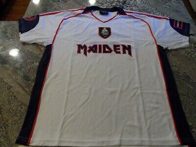IRON MAIDEN Soccer Jersey Football shirt Official Merch World Cup England