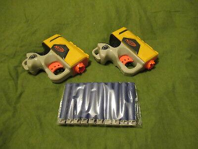 Nerf Reflex twin pack including brand new darts Nurf gun pistol Elite Jolt