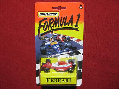 Matchbox Ferrari Formula 1 Racing Car F1 MOC Sealed 1993