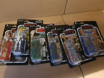 Job Lot of Star Wars Vintage Collection Action Figures Sealed