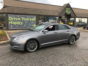 2014 Lincoln MKZ PREFERRED / NAVI / PANO-ROOF/ LEATHER/ AWD/