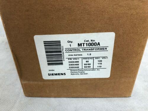 Siemens MT1000A Control Transformer 1kVA